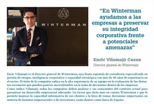 Enric Vilamajó, Director General de Winterman